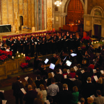 Christmas concert at St. Bart's